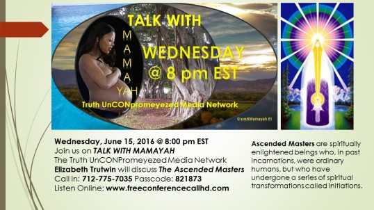 Talk on Ascended Masters