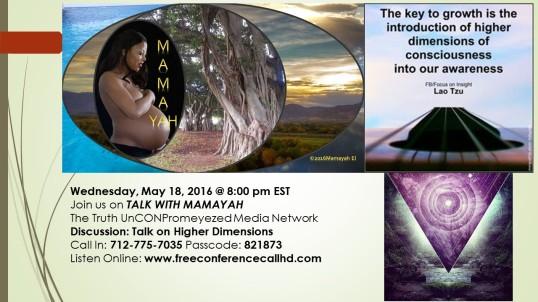 Talk on higher dimensions