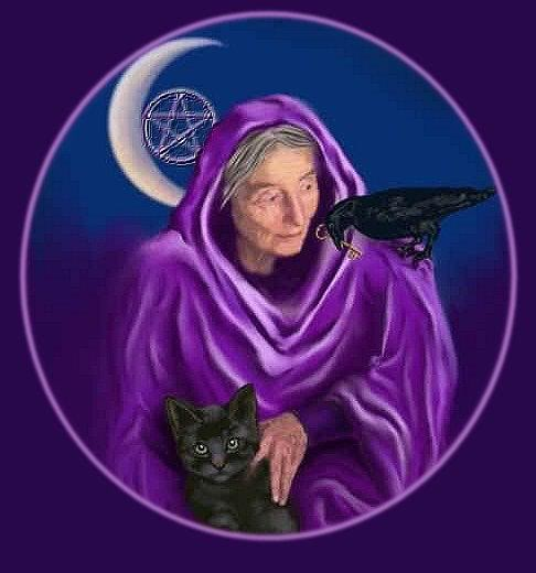 Ancient Crone Mother Goddess Divine Connection Church