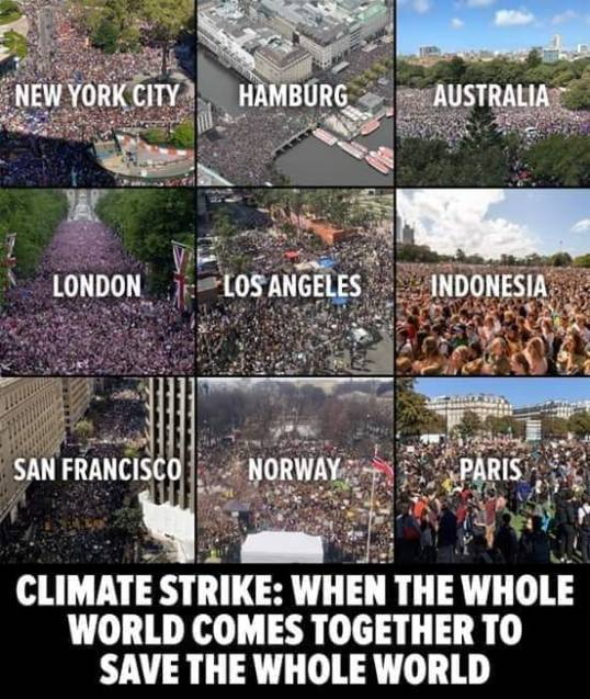 1march for climate control